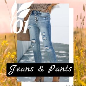Jeans and pants below!